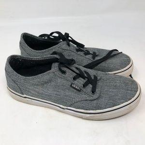 Vans Atwood Sneaker grey skateboarding shoe 5.5Y